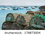 Lobster And Crab Traps Stack I...