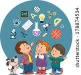 conceptual illustration of... | Shutterstock .eps vector #178874534