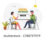 faceless men talking each other ... | Shutterstock .eps vector #1788757979