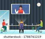 business people online... | Shutterstock .eps vector #1788761219