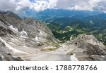 panoramic view from the dachstein glacier
