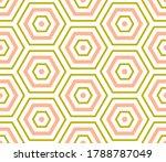 abstract hexagon geometric...   Shutterstock .eps vector #1788787049