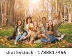 Group Of Cheerful Internationa...