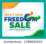 india's big sale for... | Shutterstock .eps vector #1788832010