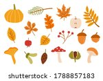 Autumn Forest Set. Collection...