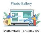 geography class online service... | Shutterstock .eps vector #1788869429