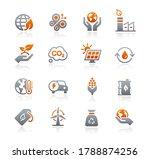 ecology and renewable energy... | Shutterstock .eps vector #1788874256