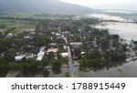 Aerial Photo Of A Village That...