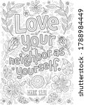 Adult Lettering Coloring Pages...