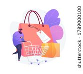 purchasing habits abstract... | Shutterstock .eps vector #1789000100