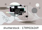 modern abstract cover  minimal... | Shutterstock .eps vector #1789026269