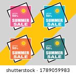 50 off discount and sale... | Shutterstock .eps vector #1789059983