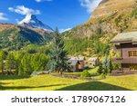 Zermatt  Switzerland Alpine...