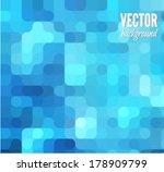 blue modern geometrical... | Shutterstock .eps vector #178909799
