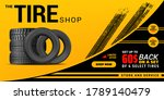 tire shop  auto service and car ... | Shutterstock .eps vector #1789140479
