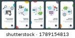 set of concept flat design...   Shutterstock .eps vector #1789154813