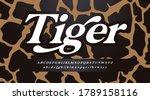 trend alphabet  minimal font....   Shutterstock .eps vector #1789158116
