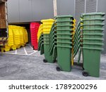 Green  Yellow  Red Bin Stacked...