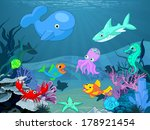 illustration background of an... | Shutterstock .eps vector #178921454