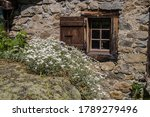 buet in vallorcine in haute... | Shutterstock . vector #1789279496