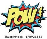 pow | Shutterstock .eps vector #178928558