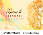 vector design of indian lord... | Shutterstock .eps vector #1789322069