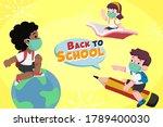 vector illustration of children ... | Shutterstock .eps vector #1789400030