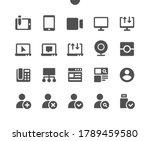 communication v2 ui pixel... | Shutterstock .eps vector #1789459580