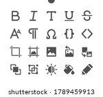 edit text v3 ui pixel perfect... | Shutterstock .eps vector #1789459913