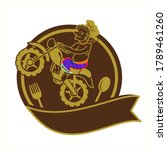 logo thai southern style food...   Shutterstock .eps vector #1789461260