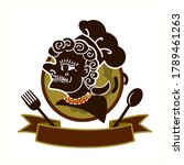 logo thai southern style food...   Shutterstock .eps vector #1789461263