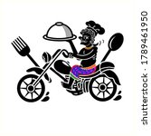 logo thai southern style food...   Shutterstock .eps vector #1789461950
