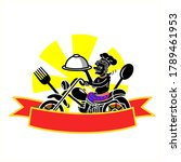 logo thai southern style food...   Shutterstock .eps vector #1789461953