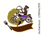 logo thai southern style food...   Shutterstock .eps vector #1789461959