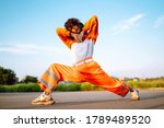 African American Woman   Dancer ...