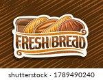 vector logo for fresh bread ... | Shutterstock .eps vector #1789490240