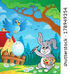 easter bunny topic image 8  ... | Shutterstock .eps vector #178949354