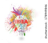 art idea concept  made with... | Shutterstock . vector #178949846