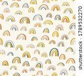 cute childish rainbows pattern. ...   Shutterstock .eps vector #1789532270