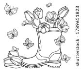 Flower Coloring Book For Adults ...