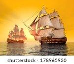 the battle of trafalgar... | Shutterstock . vector #178965920