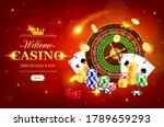 online casino wheel of fortune... | Shutterstock .eps vector #1789659293
