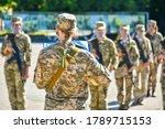 Ukrainian Girl   A Soldier...