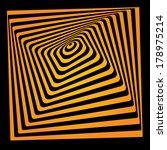 bright vector optical illusion. ... | Shutterstock .eps vector #178975214