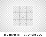 full set kind of puzzles on... | Shutterstock .eps vector #1789805300