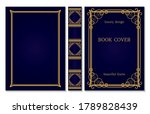 Book Cover And Spine Ornament....
