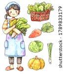 watercolor cartoon illustration ...