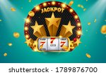 casino banner jackpot design...   Shutterstock .eps vector #1789876700