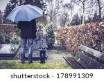 father and daughter visiting... | Shutterstock . vector #178991309