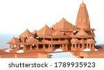 3d Rendered Model Shri Ram...
